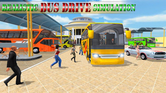اسکرین شات بازی Modern Bus Drive Simulator - Bus Games 2020 1