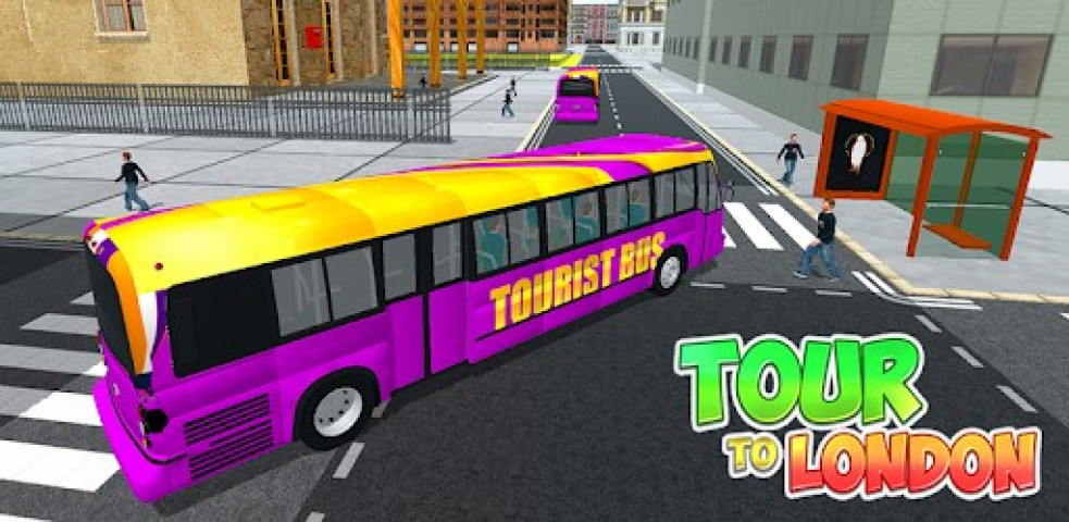 ویدئو بازی Tourist Bus NYC Offroad Driving Mountain Challenge
