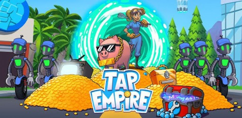 ویدئو بازی Tap Empire: Idle Tycoon Tapper & Business Sim Game